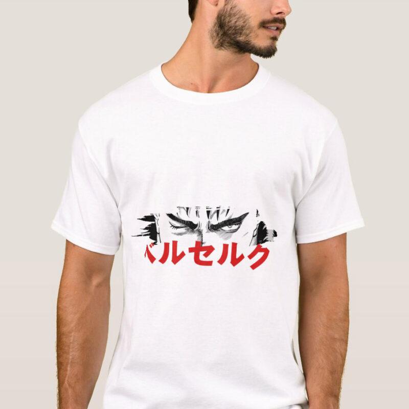 maglietta gatsu manga