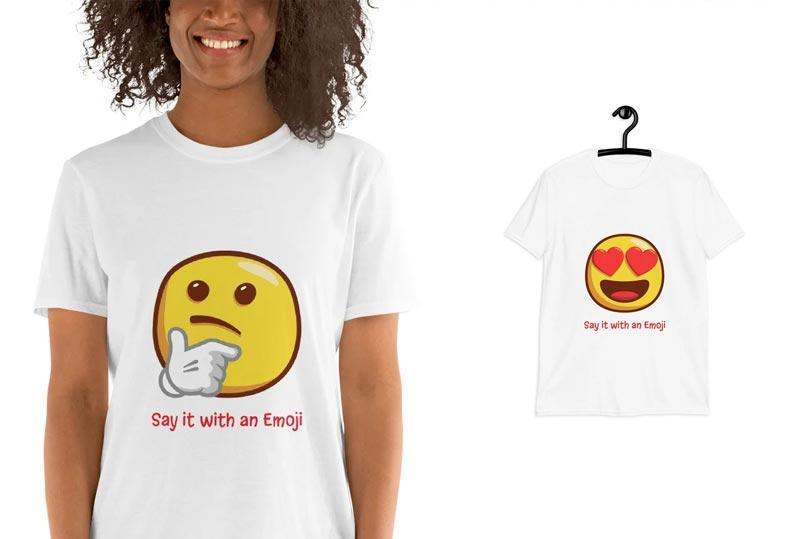Magliette Emoji