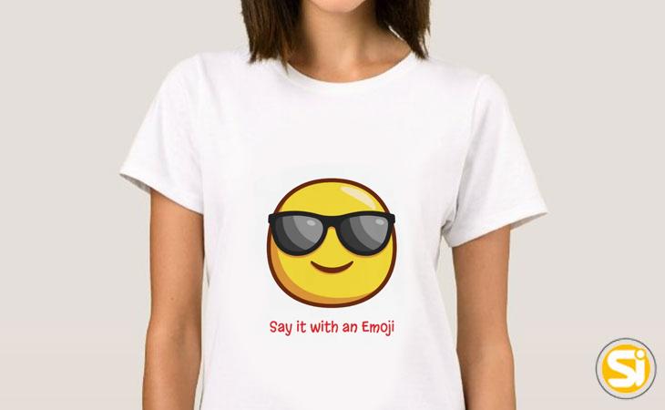 Magliette donna con emoji