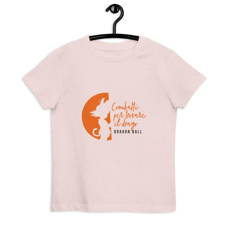 maglietta bambino Goku bambino - Colore ROSA