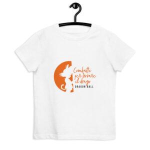 maglietta bambino Goku bambino - Colore BIANCO