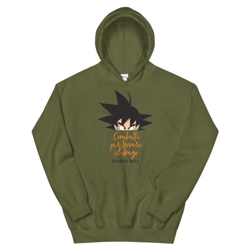 Felpa Goku Dragonball sigla