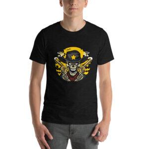 Maglietta uomo Rick Grimes - Manica Corta colore Nero