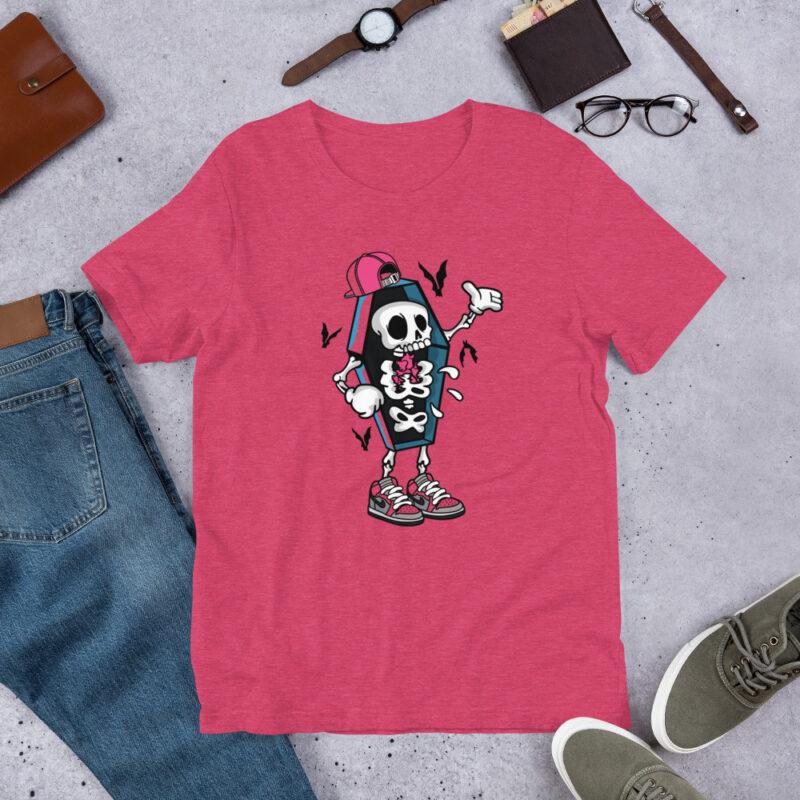 maglietta divertente rosa - Maniche corte unisex