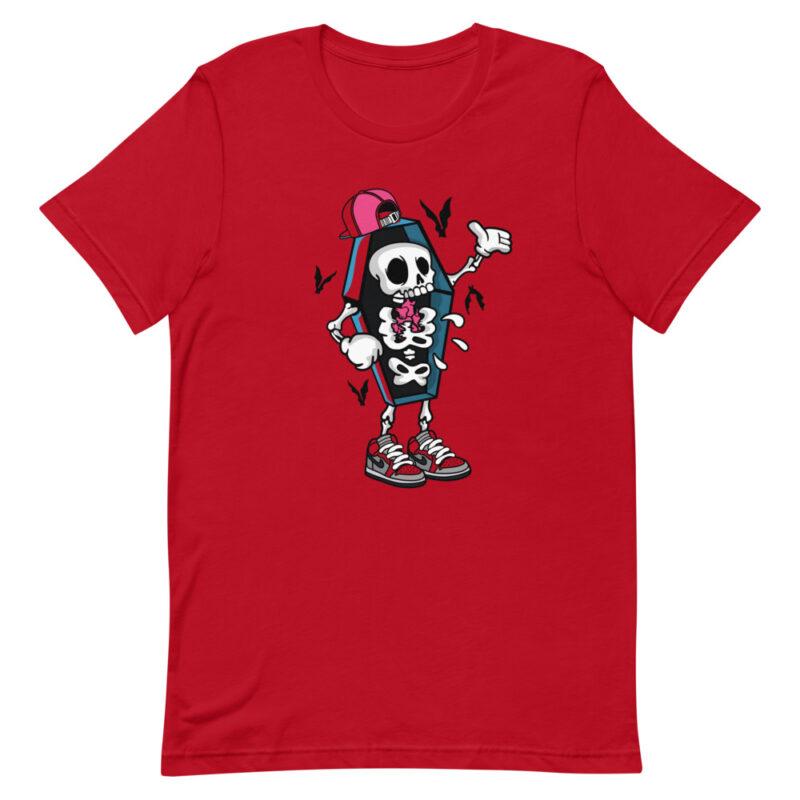 maglietta divertente rossa - Maniche corte unisex