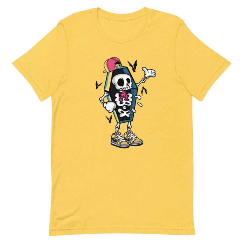 maglietta divertente gialla - Maniche corte unisex
