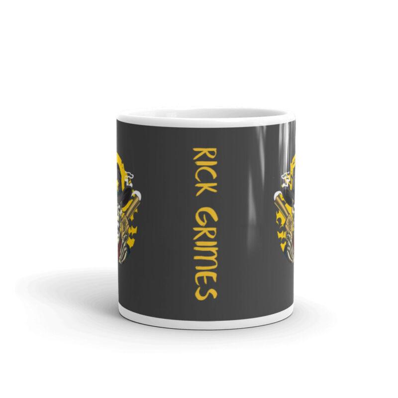 Tazza da latte personalizzata Rick Grimes