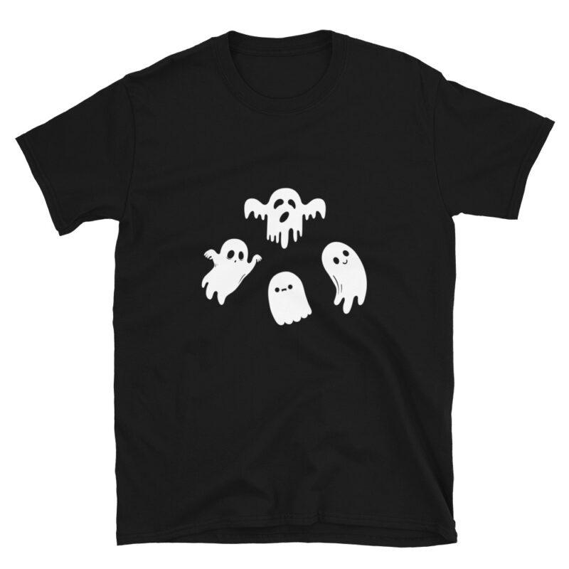 Maglietta con fantasmi per Halloween