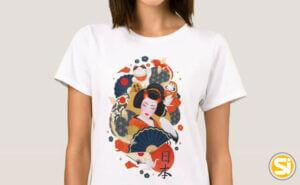 Magliette donna originali
