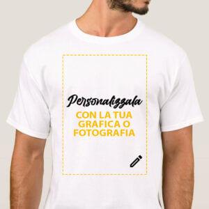 maglietta personalizzata con la tua grafica