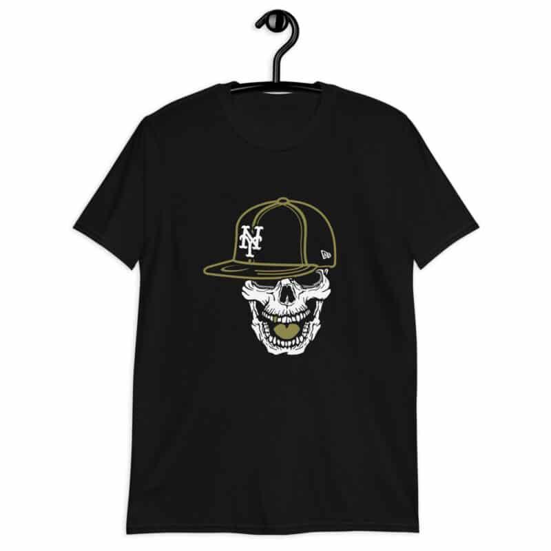 Teschio trendy con cappello NY