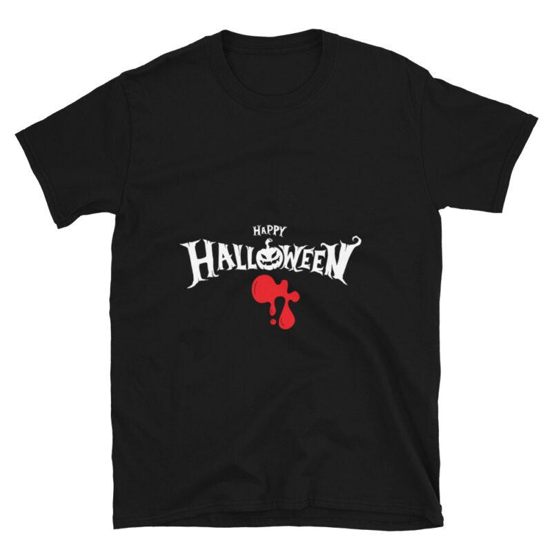 Maglietta Halloween con sangue