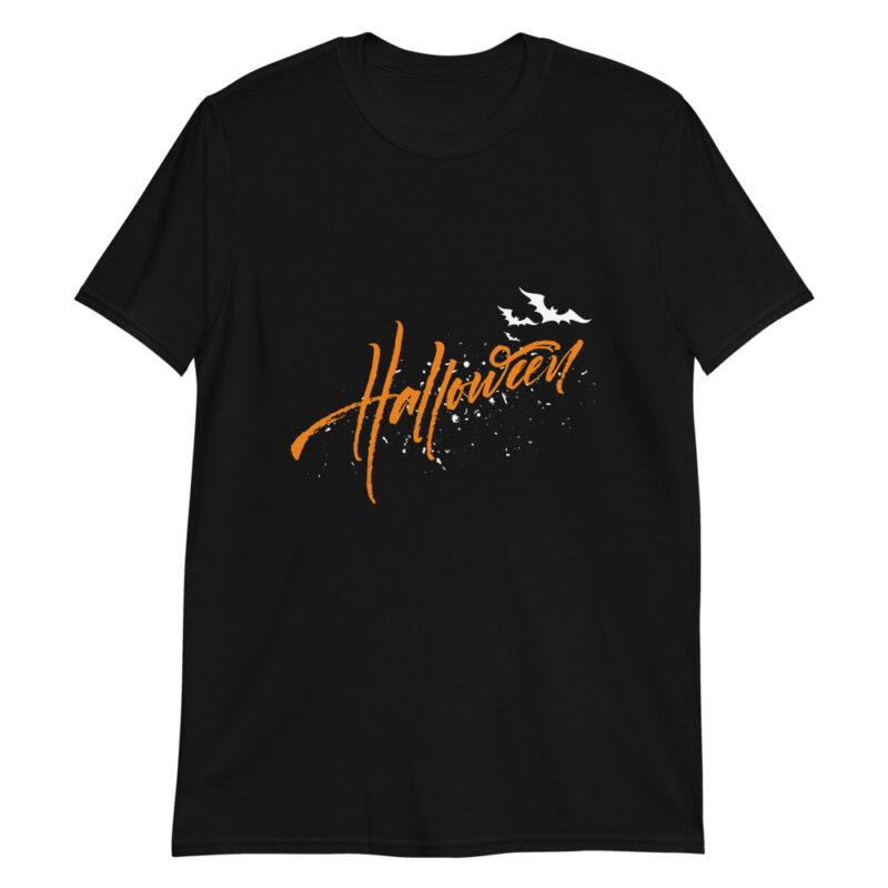 Maglietta Halloween con pipistrelli