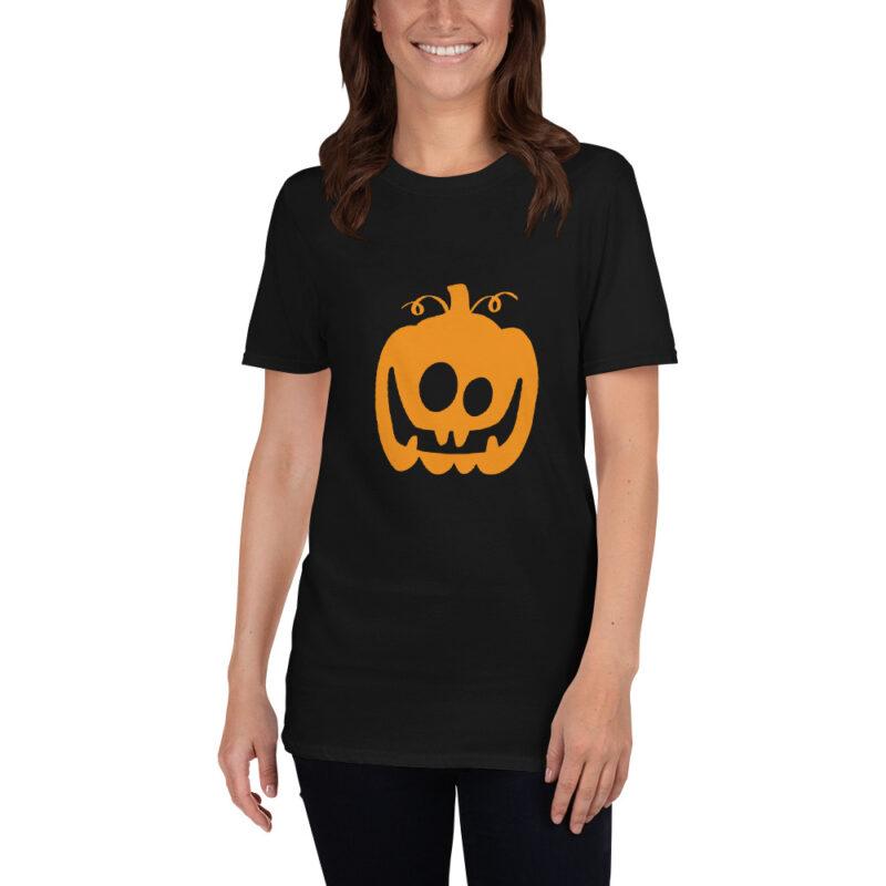 Zucca di Halloween Maglietta donna