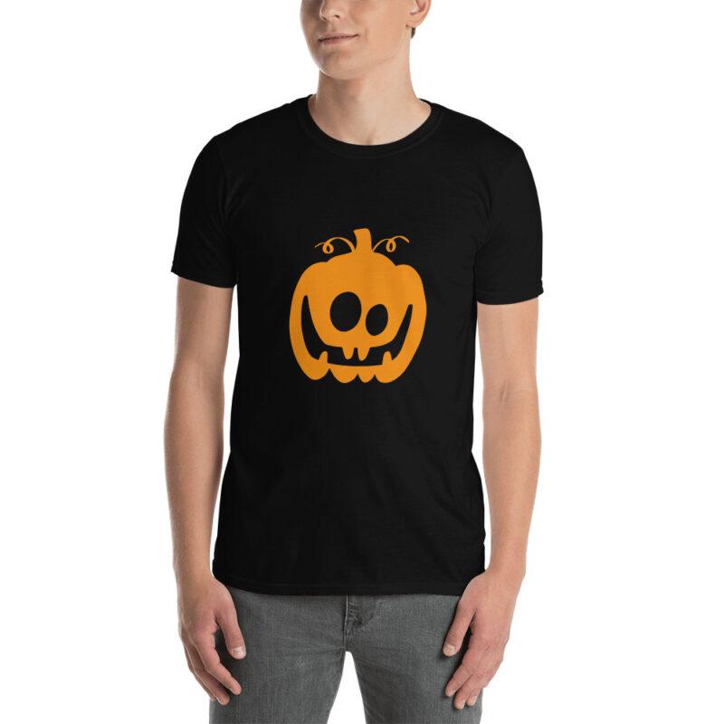 Maglietta Zucca di Halloween allegra
